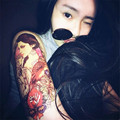 2Pc Temporary Tatto Waterproof  Temporary Tattoo Arm Sticker Sleeve Tattoos Tattoo Sticker