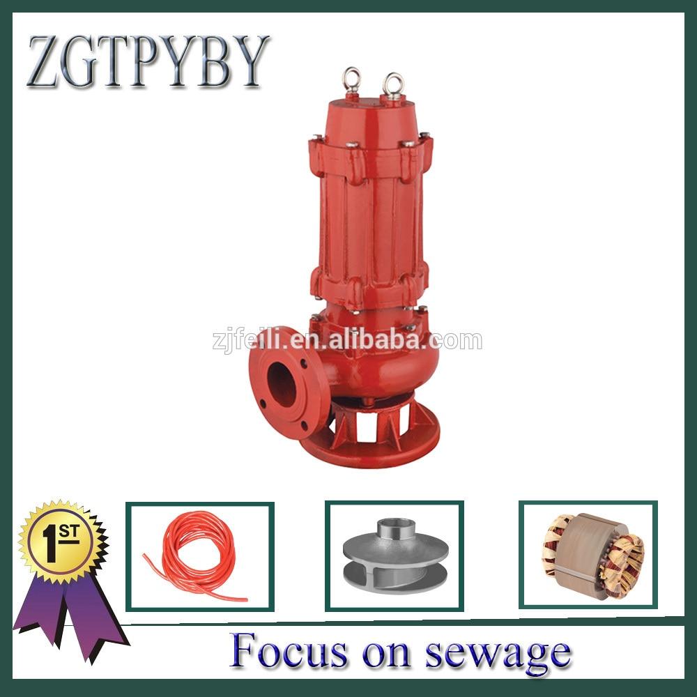 non-clog sewage submersible pump  waste water pump high-temperature sewage pump waste water pump