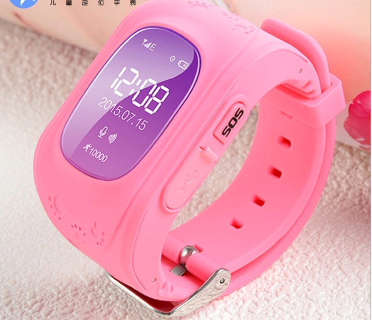 Smart Kid Safe for smart font b Watch b font Wristwatch SOS Call Location Finder Locator