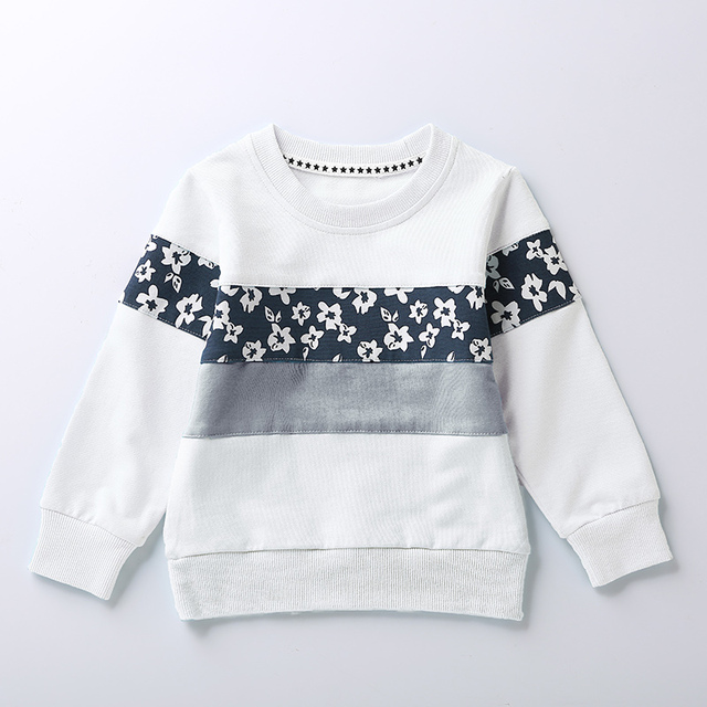 2017 Child Clothes Spring New Arrival Baby Girls Boys Toddler Terry Sweater Cartoon Long Sleeve T-shirt Jerseys Kids Clothes