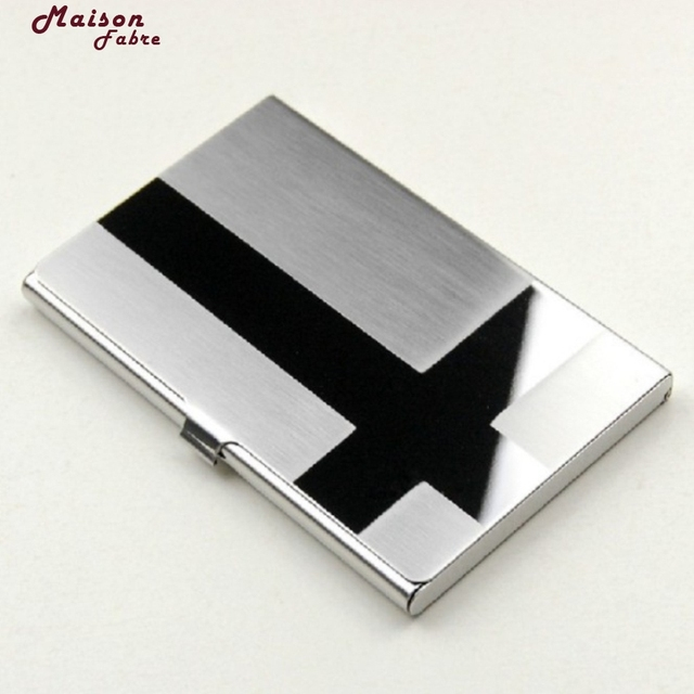 New fashion luxury brand metal silver aluminium business card holder new fashion luxury brand metal silver aluminium business card holder box case wallets holders business colourmoves