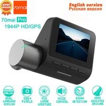 Xiaomi 70mai Pro Dash Cam Macchina Fotografica Dell'automobile DVR 1944 P HD GPS ADAS IMX335 140 Gradi FOV di Visione Notturna Voice di controllo 24 ORE di Parcheggio Monitor