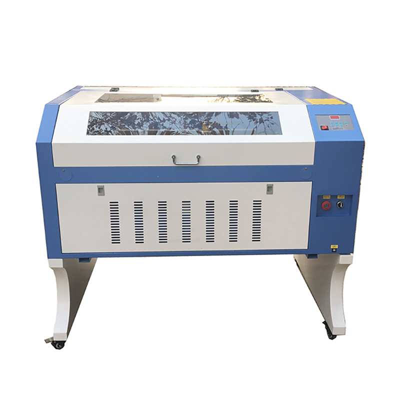 6090 CO2 80W Laser Cutting Machine Support Water Cooling Way Mini Cnc Laser Engraving Machine For Free Shipping By Sea