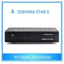 2 unids Originales zgemma estrellas S DVB-S2 HD Digital Satélite Receptor nube ibox 2 plus SE versión de actualización en stock
