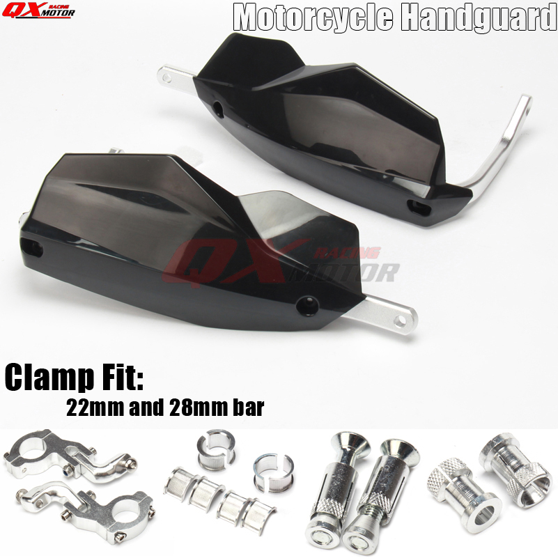 New Motorcycle Hand Guards Motocross Dirtbike Handguards Protector For RMZ IRBIS CRF YZF KTM KXF KAYO BSE 22mm 28mm Handlebars 2pcs motorcycle handguards hand guards protectors 7 color option motocross protector universal plastic for monster