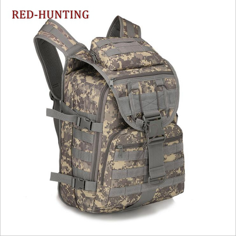 a11935f49ff Multicam 40L Tactical Daypack MOLLE Assault Backpack Pack Military Gear  Rucksack Large Bag Sport Outdoor For Hunting Camping -in Climbing Bags from  Sports ...