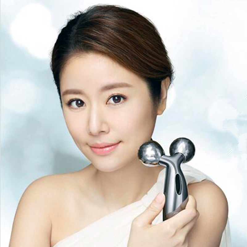 360 Rotate Full Body Shape Massager 3D Roller Massager For Face and Body Lifting Wrinkle Remover Y Shape Roller Massager Tools