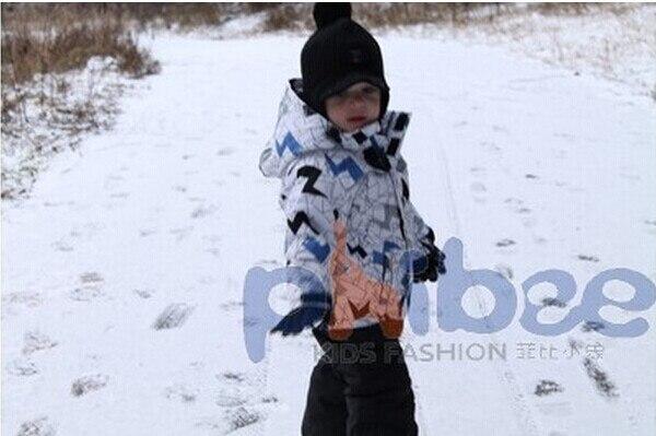 2014 yeni varış Kış bebek boys yenilik parkas coat, Yenidoğan boys marka windproof coat & ceket, Üst kalite bebek çocuk snowsuit