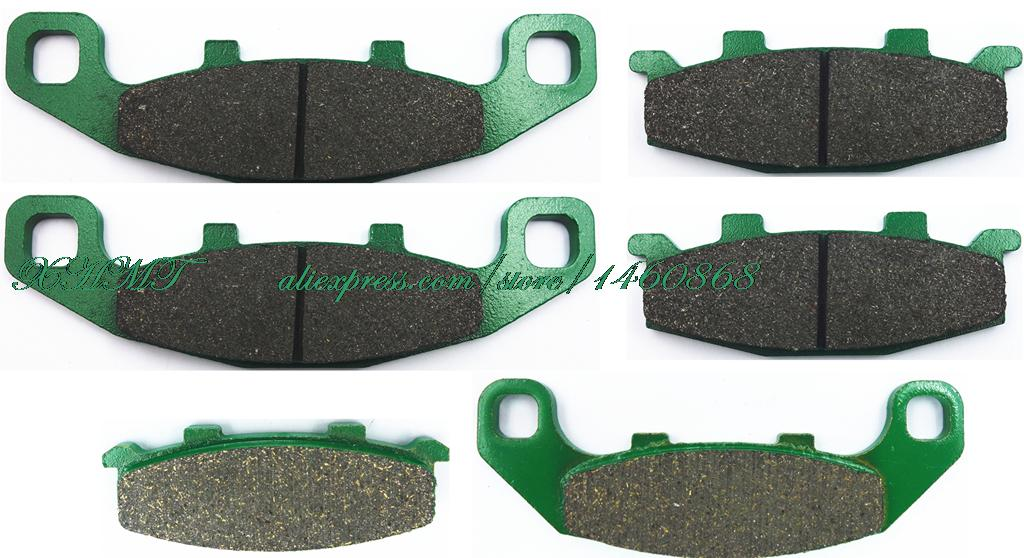 Brake Pad Set For Kawasaki Zr750 Zr 750 Zephyr 1991 1992 1993 / Suzuki Gsx1100 Gsx 1100 G 1993 1994 1995 1996