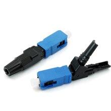 0.3dB SC UPC conector rápido/rápido FTTH herramienta de fibra óptica conector en frío precio al por mayor