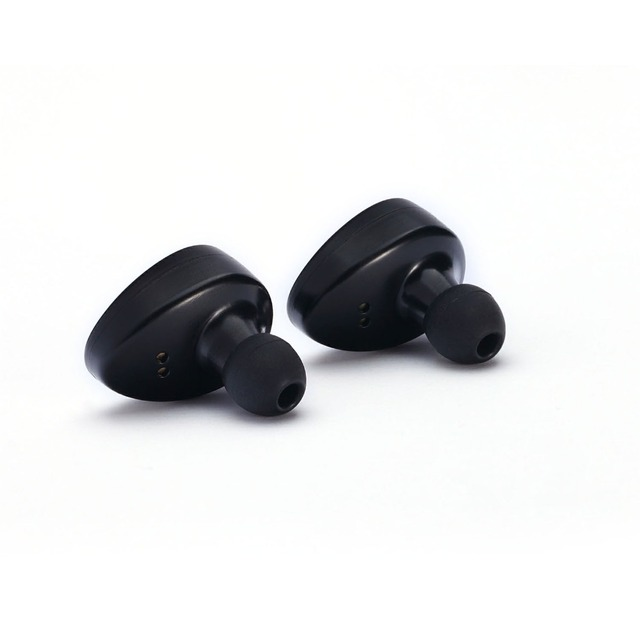 True Bluetooth Earbuds with Noise Cancelling Mini  In-ear Invisible Earphones Truly Wireless Bluetooth Music Earpiece Headset