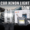 Un conjunto 55 W Xenon HID kit de lastre delgado H8 H9 H11 H11 55 W hid xenon bombilla 4300 k 5000 k 6000 k 8000 k 10000 k