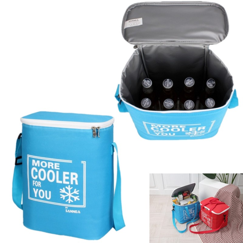 Large Capacity Outdoor Beer Picnic Bag Handheld Insulation Pack Bag for Picnic Food Warm Bag Cooler Tote Lunch Insulated Cold