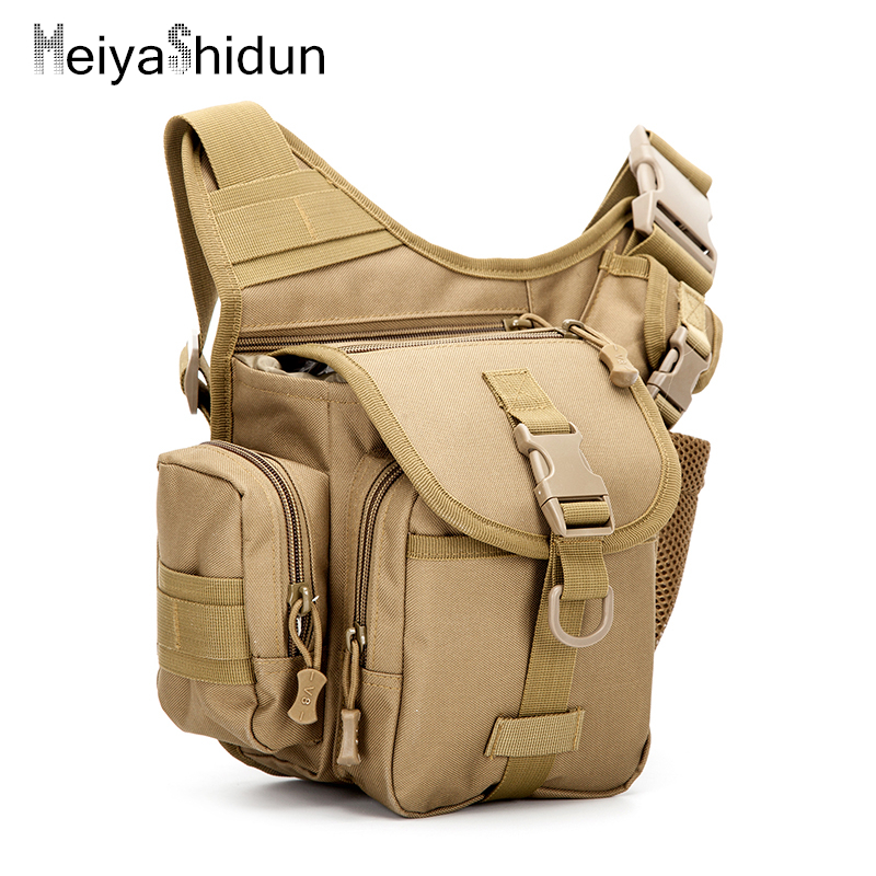 MeiyaShidun Men Tactics Military Drop Leg Bags Multifunction Coin Purse Waist Belt Pouch Shoulder motorcycle Travel Hip Bum Bags ...