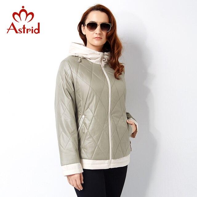 Астрид 2019 женские куртки пальто модные короткие Женская куртка Европейский Стиль Женская теплая верхняя одежда Украина леди AM-2810