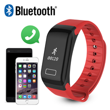 Red F1 Smartband Bluetooth Smart Wristband Band Bracelet Heart Rate Monitor Sleep For iPhone Android Phone Meizu Xiaomi mi band