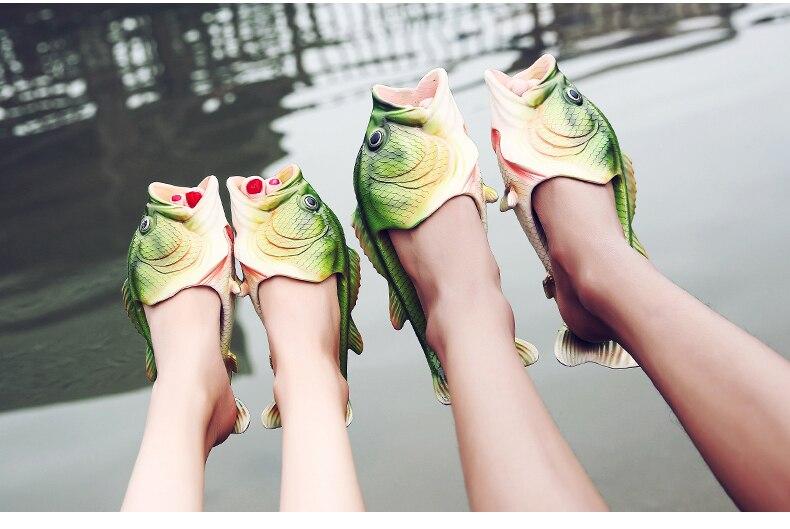 42ba18b2110d3 Weweya New Summer Shoes Men Sandals Fish Slippers Flip Flops Sandals ...