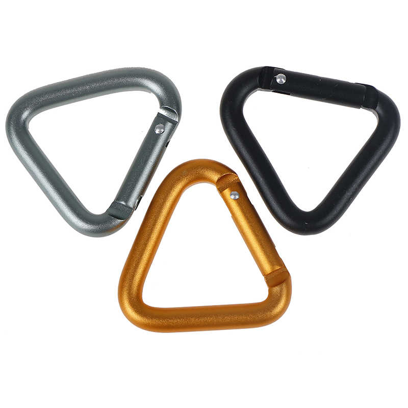 Climbing Kettle Clip Hanging Buckle Backpack Hook Quickdraws Keychain Carabiner