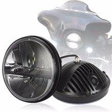 7 дюймовый дисплей СО СВЕТОДИОДНОЙ Лампы Конверсионные Комплекты с 36 Вт Супер Яркие СВЕТОДИОДНЫЕ Чипы для Дёипов Wrangler Мотоцикл Фары