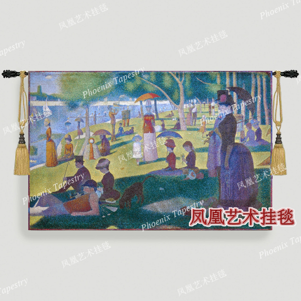 Georges Seurat   Paintings Art tapestry fashion wall hangings george middot    Europe design Home textile decoration. Textile Art Wall Hangings Promotion Shop for Promotional Textile