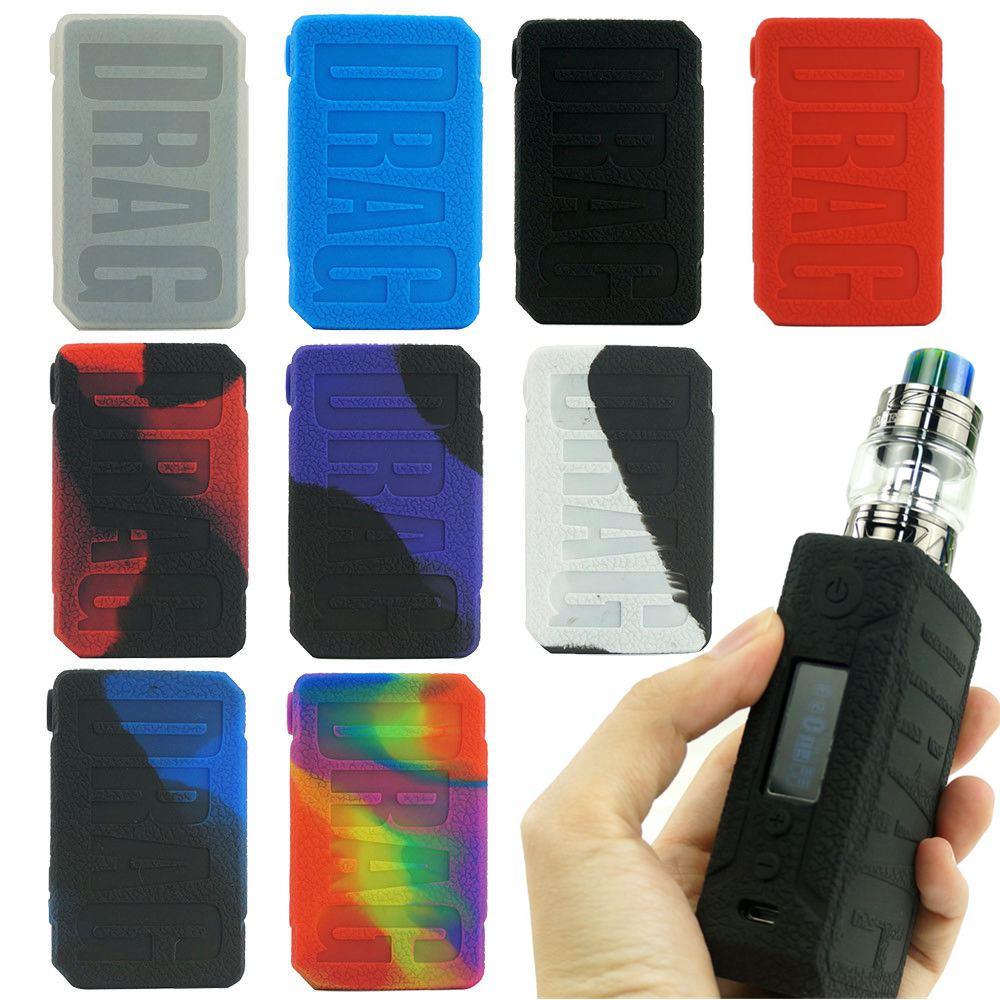 Coque en silicone de protection pour VOOPOO Drag 2 177W KIT boîte Mod housse de protection pour la peau étui à manchon
