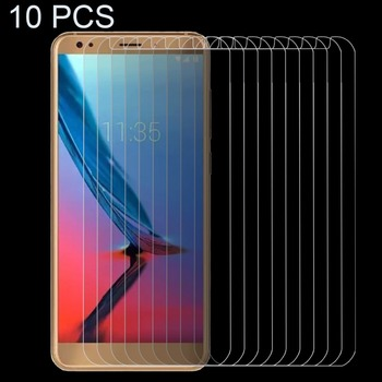 Pack of 10 ENKAY Hat-Prince for ZTE Blade V9 Vita Screen Protector 0.26mm 9H Surface Hardness 2.5D Tempered Glass Screen Film