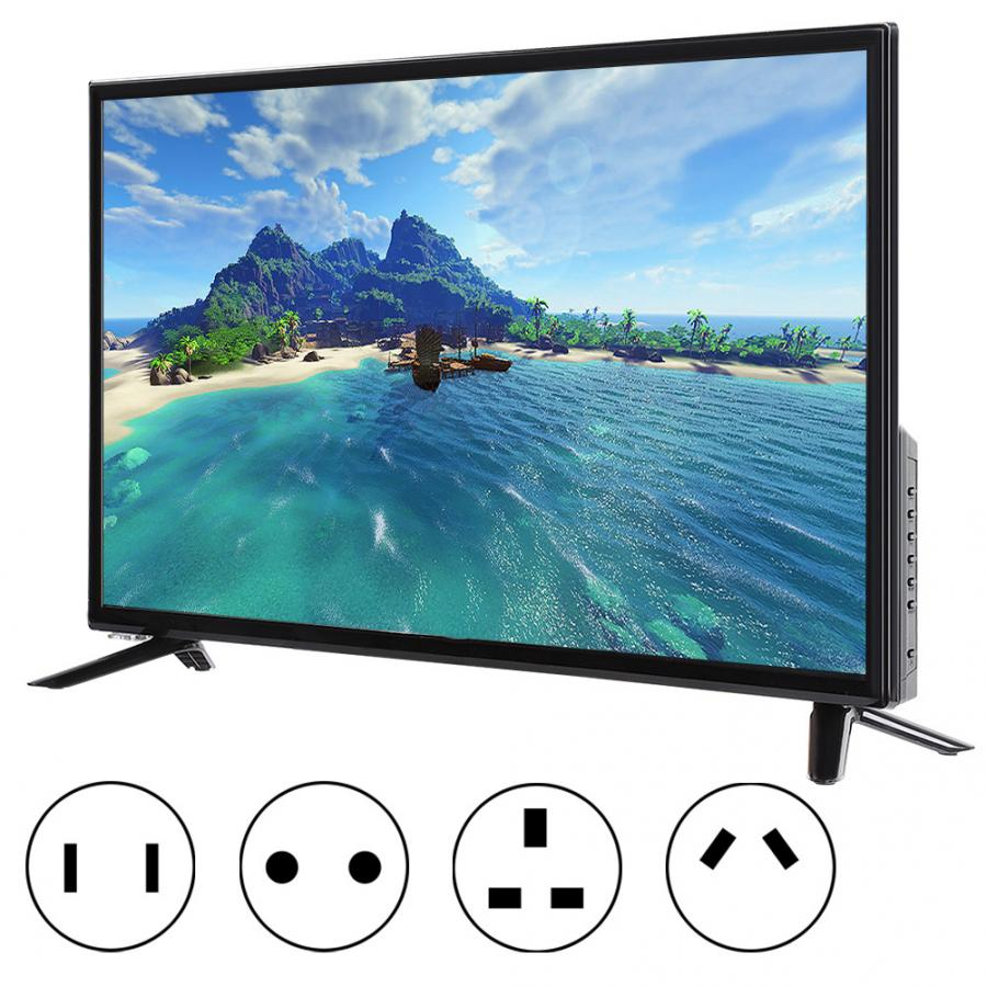 LCD Television Screen DVB-T2 Smart-Tv Home Theater 32inch HD USB with USB/RF Real-Time-Conversion title=