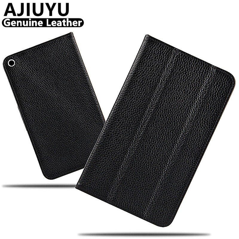 Genuine Leather For Huawei MediaPad T17.0 TPU Case Cover T1 7 Cowhide Protective Smart Cover Tablet For honor T1-701u 7.0 inch