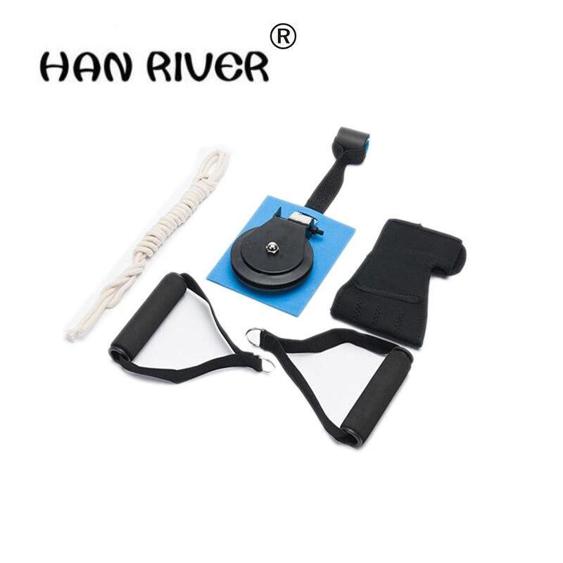 Pulley suspension rings elderly hemiplegic stroke upper limb rehabilitation training equipment Hand arm traction exercise equipm