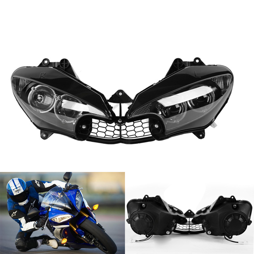 Motorcycle Headlight Head light lamp Assembly For Yamaha YZFR6 YZF R6 YZF-R6 2003 2004 2005 YZFR6S YZF R6S 2006 2007 2008 2009 все цены