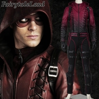 The Green Arrow Roy Harper Cosplay Costume Adult Halloween Costumes Red Arrow Costume Cosplay Roy Harper suit Custom made