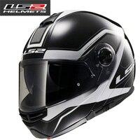 Hot Sale LS2 FF325 Flip Up Motorcycle Helmet Individuality Modular ECE Moto Helmet Double Sun Lens