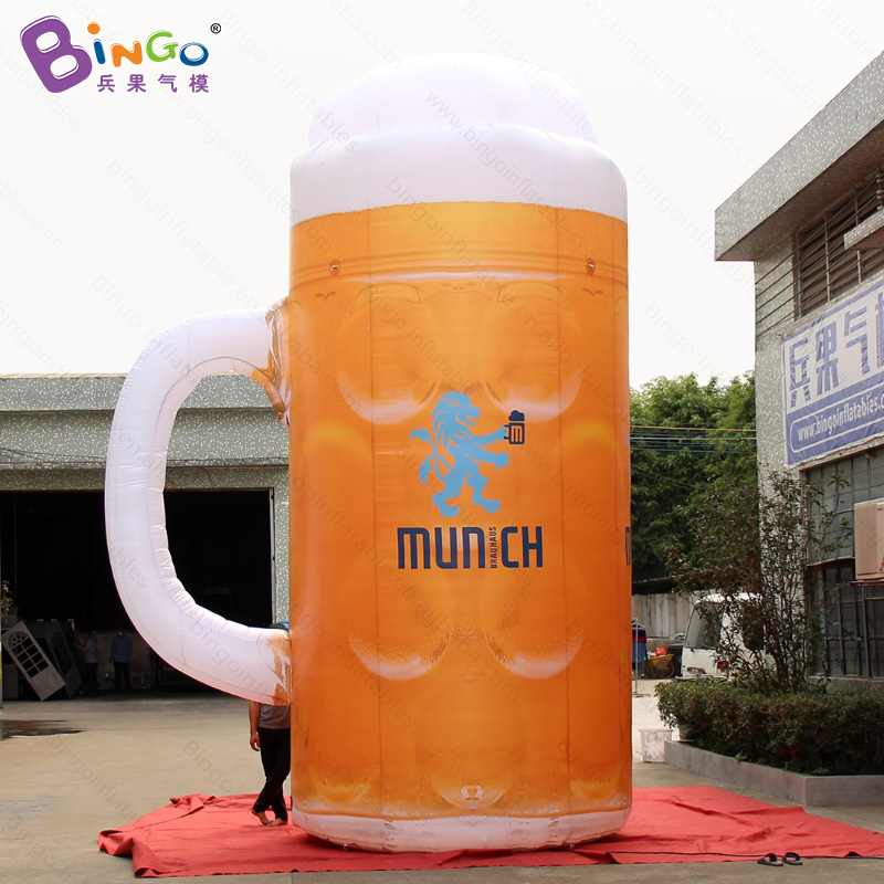 FACTORY OUTLET customized 5mh inflatable beer mug for decoration in advertising / inflatable tall beer mug toyFACTORY OUTLET customized 5mh inflatable beer mug for decoration in advertising / inflatable tall beer mug toy