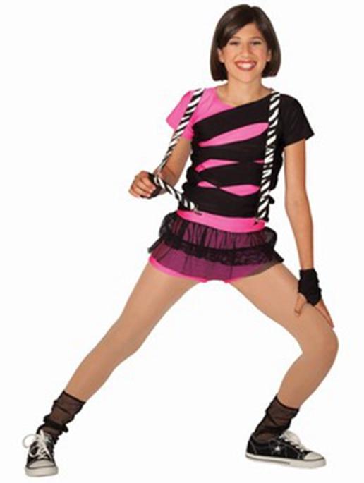 Female Professional Jazz Dance Street Dance Stage Performance Clothing Dance Wear Elastic Mesh Shorts