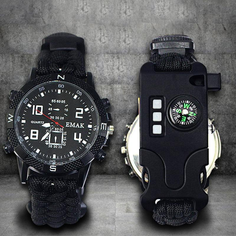 aeProduct.getSubject()  EDC Tactical multi Outside Tenting survival bracelet watch compass Rescue Rope paracord gear Instruments package HTB1eXMwlj7nBKNjSZLexh6xCFXa5