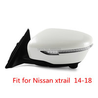 With Camera Electric automatic folding heating with LED turn signal side rearview mirror For Nissan xtrail 2014 2018
