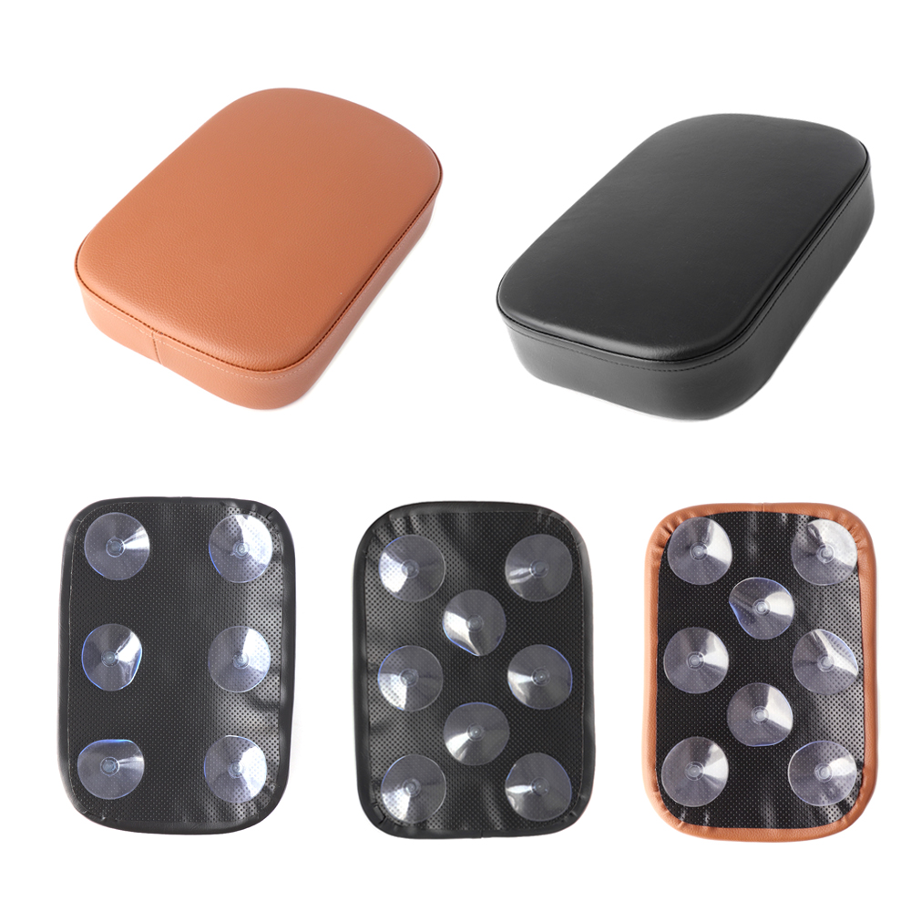 Rear Passenger Cushion 6/8 Suction Cups For Harley Dyna Sportster Softail Touring Pillion Pad Suction Seat