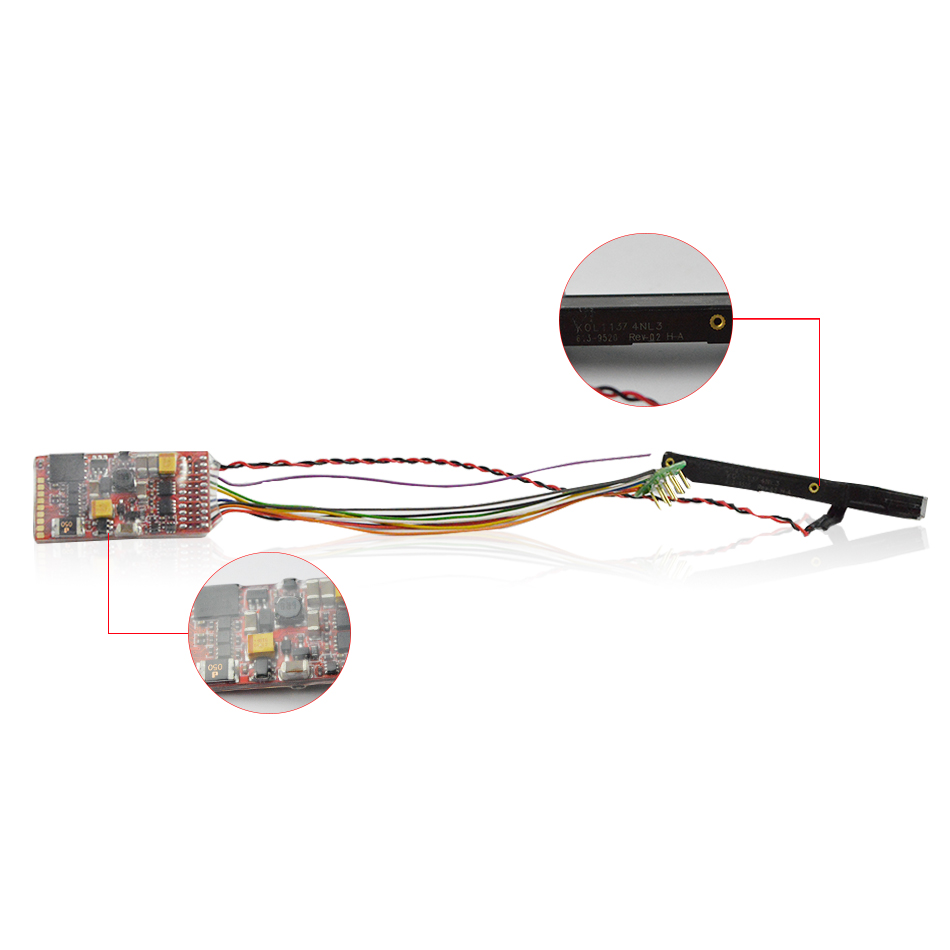 HO scala Treno modello di negozio Dinamica Core 5131 costante di velocità del suono di chip digitale-in Kit di modellismo da Giocattoli e hobby su  Gruppo 1