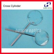 Офтальмологический поперечный цилиндр мощность-0,25-0,50 опционально