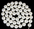 "10mm Blanco AAA South Ocean Shell Perlas Perlas Sueltas 15 ""xu79"