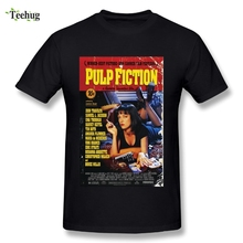 New Arrival Man Pulp Fiction T Shirt Classic Movie Fashionable Streetwear T-Shirt