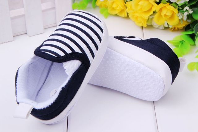 2017 New design baby Boy first walkers shoes Soft Sole Skid Proof Baby Shoes 0-12 Months 2
