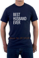 Fathers Day Gift Best Husband Ever T Shirt Wedding Anniversary Gift From Wife