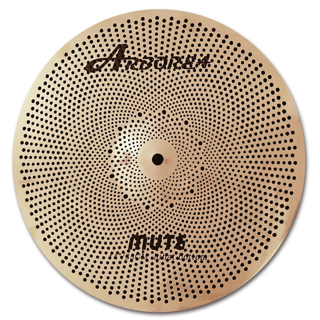 Arborea mute cymbals, gold 14