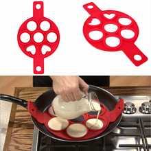 1Pc Pancake Maker Nonstick Cooking Tool Round Heart Egg Cooker Pan Flip Cake Eggs Mold Kitchen Baking Accessories