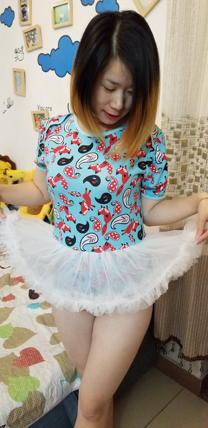 2018 New TUTU Onesie With Lace Tulle Rara Skirt , Pajamas