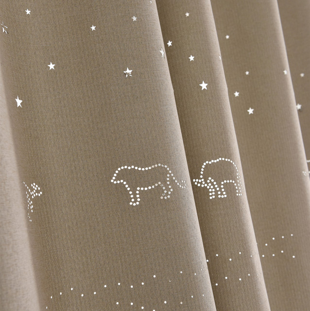 Thickening Curtain Fabric, Pure Color Cloth, Modern Minimalist ...