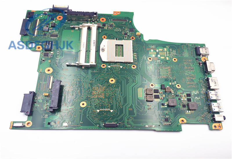 все цены на Laptop Motherboard FOR TOSHIBA FOR TECRA A50 Motherboard FAWGSY5 A3867A DDR3L Integrated 100% Test OK онлайн