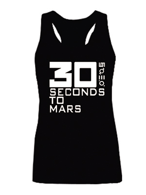 Новое поступление 30 секунд на марс женские футболки топы девушки мода жилет без рукавов качества sml XL 2XL
