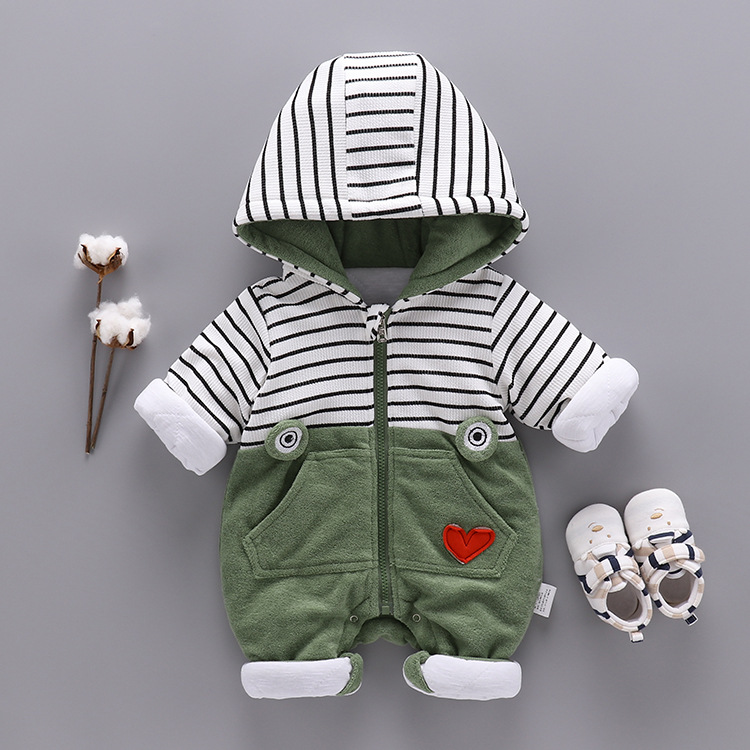 Newborn Baby Rompers Infant Winter Overalls Plus Thick Cotton Sweater Outfits Double Breasted Boy Girl Romper Kids Jumpsuit newborn baby rompers baby clothing 100% cotton infant jumpsuit ropa bebe long sleeve girl boys rompers costumes baby romper